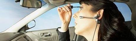 Make-Up in Car