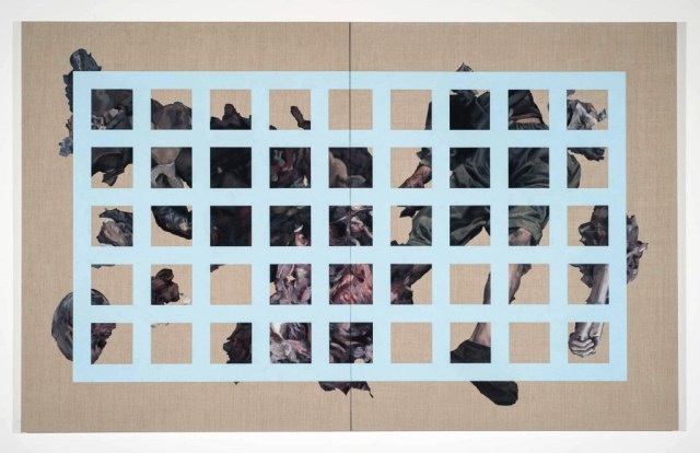 Blue Barricade, Chase Westfall, 2015