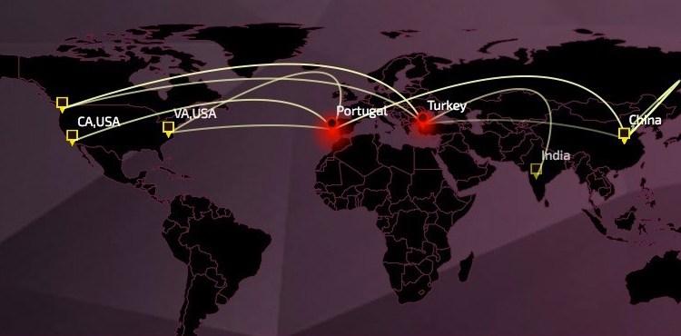 Threat Map