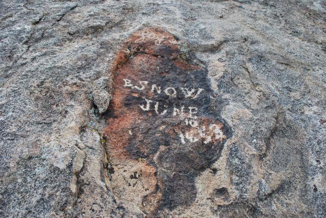 """B. Snow, June 10, 1853"""