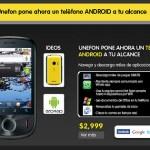 Unefon IDEOS, El Android de los pobres