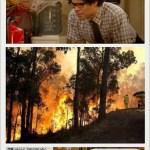 Incendios forestales en Coahuila