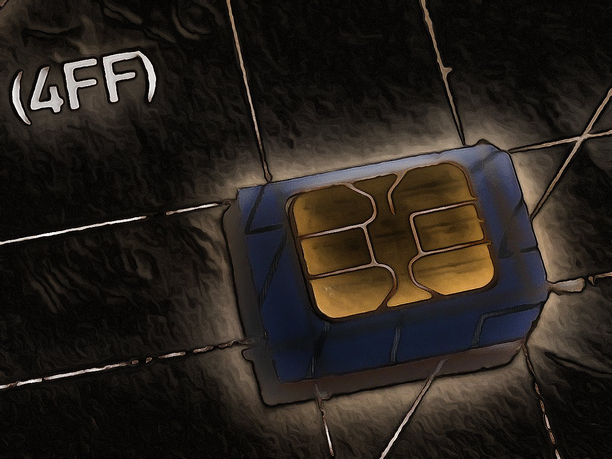 Recortar tarjeta SIM para el iPhone