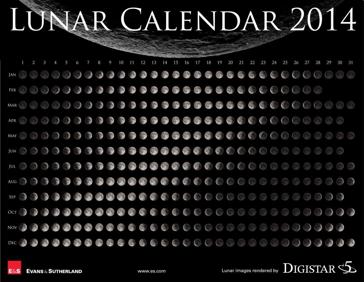 Calendario Lunar 2014 - LINUXMANR4