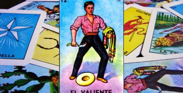 Lotería mexicana El valiente