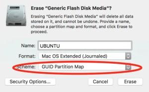Erase USB Volume with Disk Utility on Mac