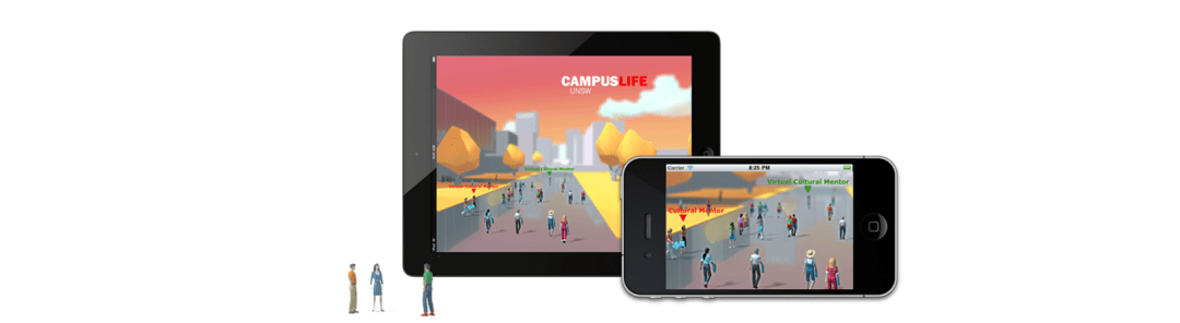 CampusLife running on multiple devices