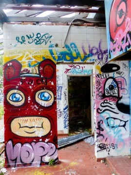 Street Art - Newcastle - October 2015 - In Alley Between Hunter and King - Unknown 4