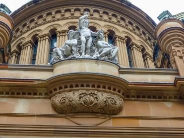 Queen Victoria Building Detail