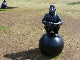 Wang Shugang - Man On A Ball