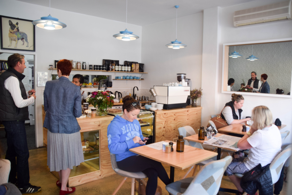 little sunflower cafe elwood, brunch review - lisa eats world