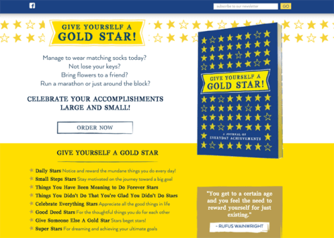 Give Yourself a Gold Star