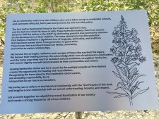 New sign unveiled on Aboriginal Day