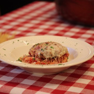 What's for dinner? Veal Parmigiana!