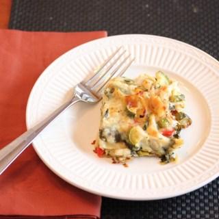 Another Rediscovered Recipe, Chicken Lasagna Alfredo