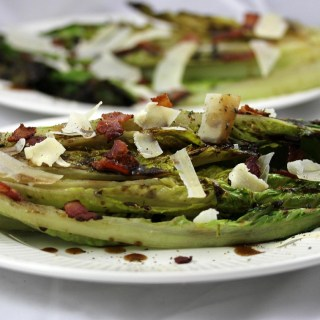 Grilled Romaine with Fig Vinaigrette