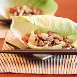 Part II Budget Meals:  Mu Shu Pork Wraps