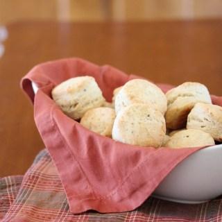 Pecorino-Pepper Biscuits