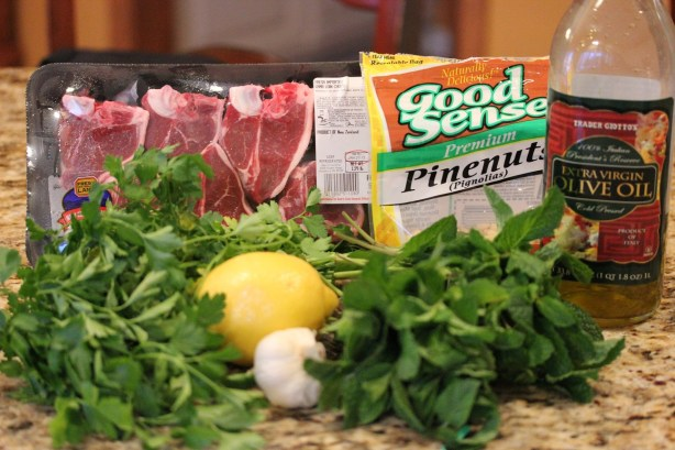 Grilled Lamb Chops with Minted Gremolata - Lisa's ...