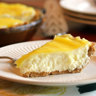 (Almost) No Bake Lemon Cream Pie