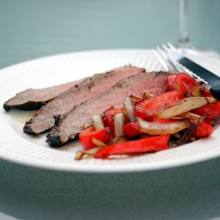 Pesto Marinated Flank Steak