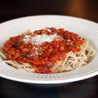 Easy Italian Sausage Ragu