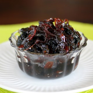 Red Onion Dried Cherry Marmalade