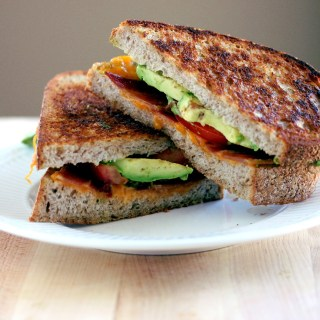 Grilled Bacon Tomato and Avocado (BTA) Sandwich