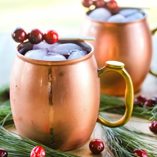 Cranberry Christmas Mule
