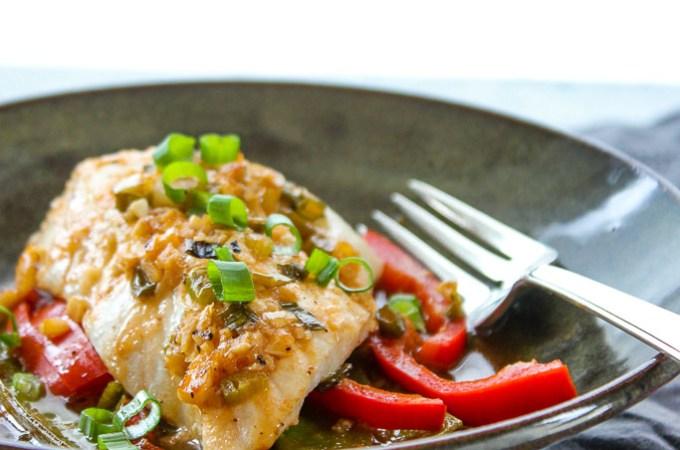 Lisa's Dinnertime Dish:  Halibut en Papillote