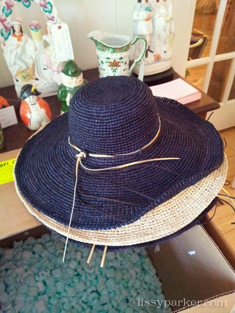 Check out the wide brimmed hats to shade the Summer sun