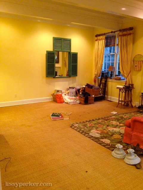 And the Living Room ... well it looks a little sad