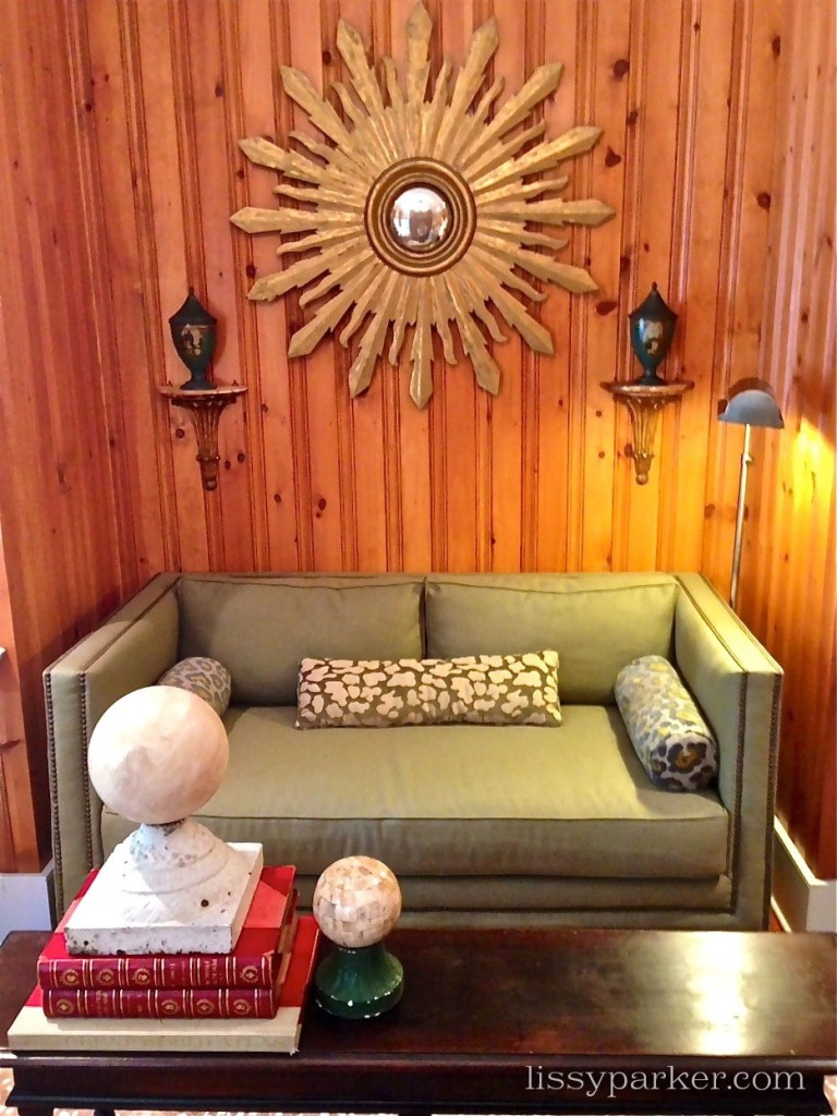 Study was designed by Sally Johannasen of Dovetail Antiques in Cashiers