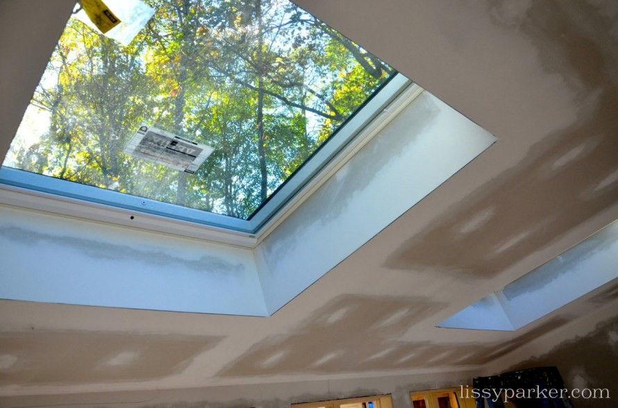 New operable sky lights have been added