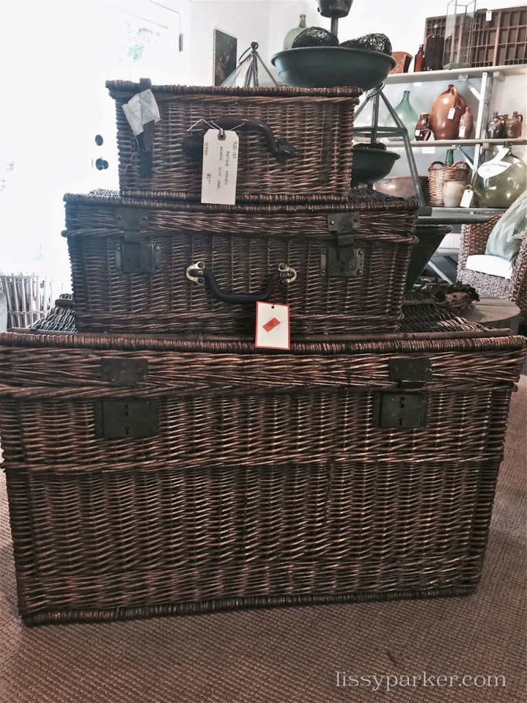 Great baskets for storage or tables