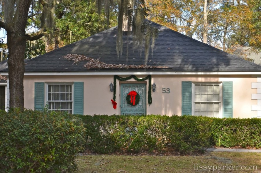 Tiny little charmer—great shutters and door