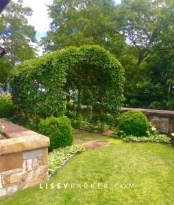 English garden tour