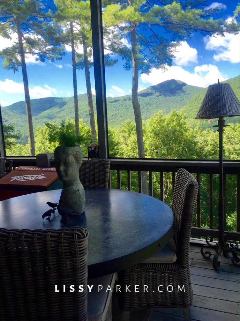 porch view of mountains