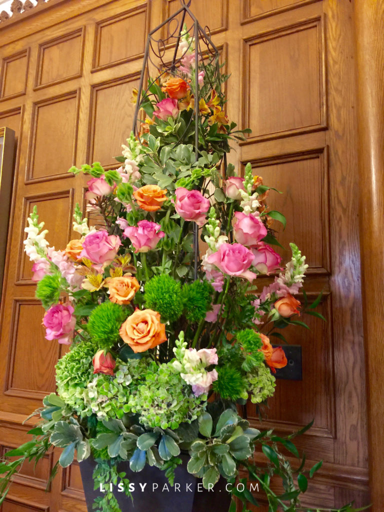 Love this Spring flower arrangement