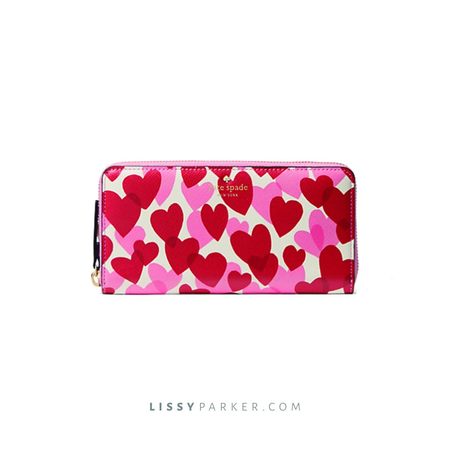 Kate Sapade heart wallet