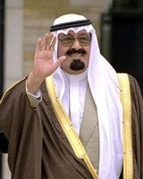 Abdullah Of Saudi Arabia
