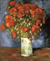 Thm Thm Red Poppies 1886 22X18