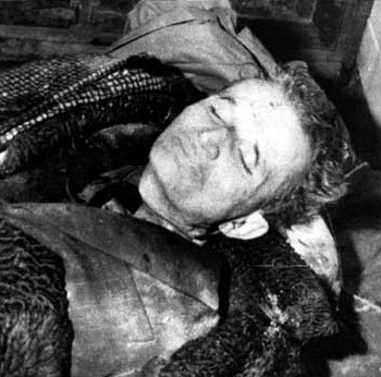 Celebrity Dead Bodies Pictures Nicolae ceausescu dead 2