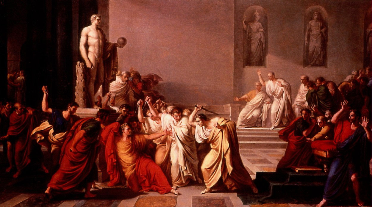 a history of the death of tiberius gracchus sparking the fall of the roman empire Internet ancient history sourcebook:  (c46-c120 ce): life of tiberius gracchus (c164-133 bce)  slavery in the roman empire numbers and origins.