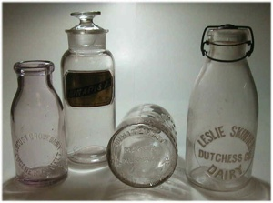 Milk Bottles Of The Late 19Th Century