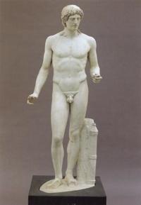 Kasseler Apollon  Um 100 N 300X434. Chr. Nach Griechischem Original  Um 450 V. Chr.