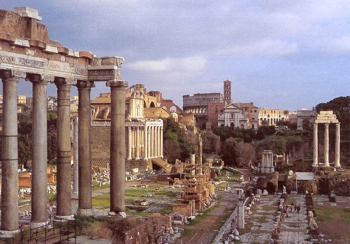 Via Sacra Roman Forum