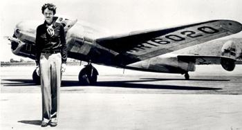 Earhart Plane