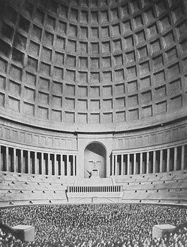 Albert Speer Dome Domed Hall Hitler Architect2