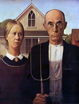 1928 Grant Wood American Gothic-Wl400.Jpg